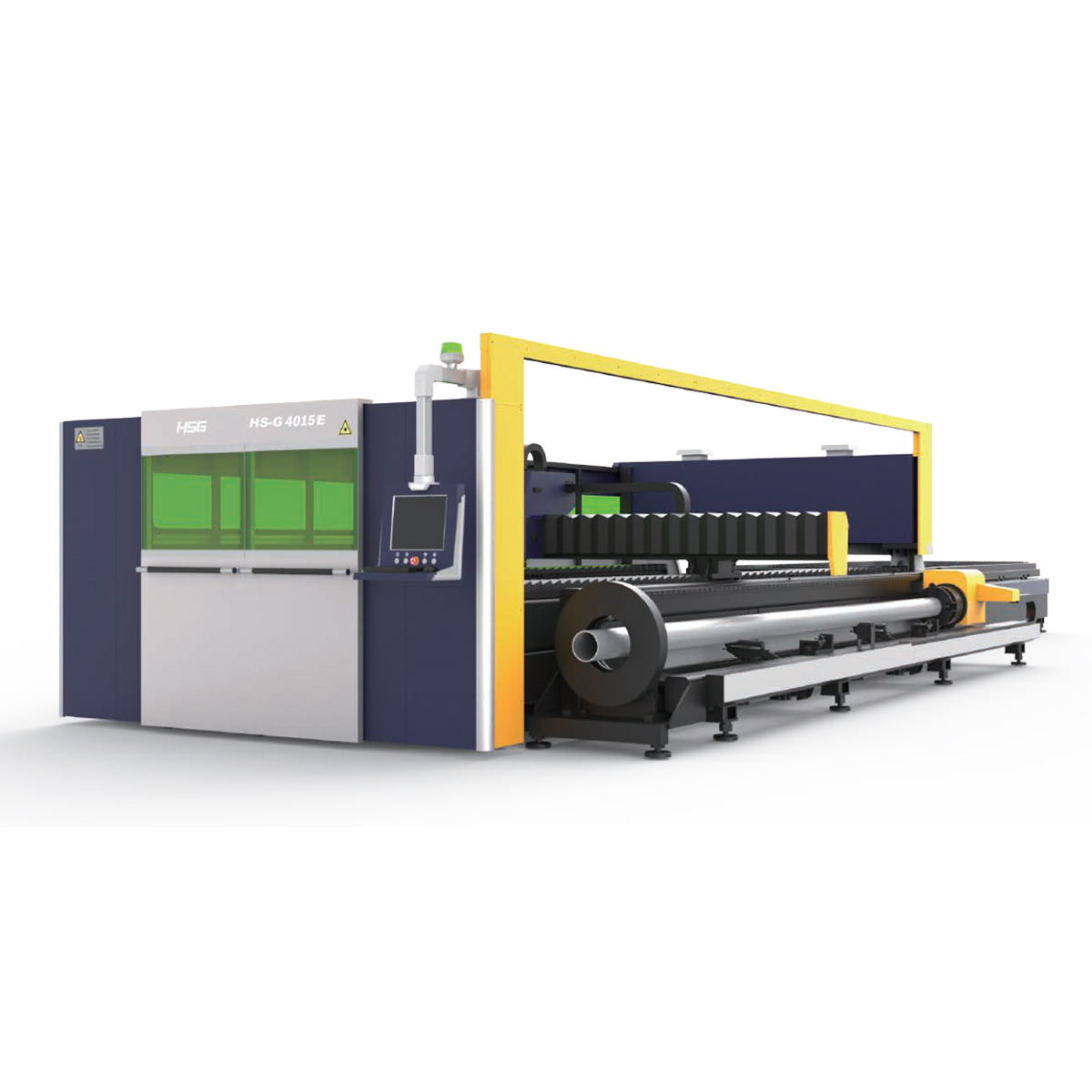 HSG: G4015E Cutting Metal Sheet and Tube