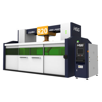 HSG: R20 3D Robot fiber laser cutting machine